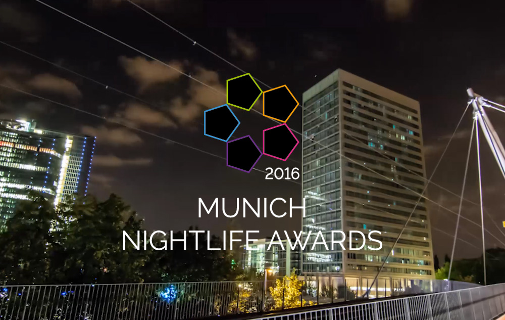 Munich Nightlife Awards 2016
