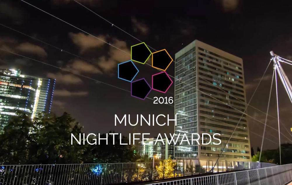 Munich Nightlife Awards 2016